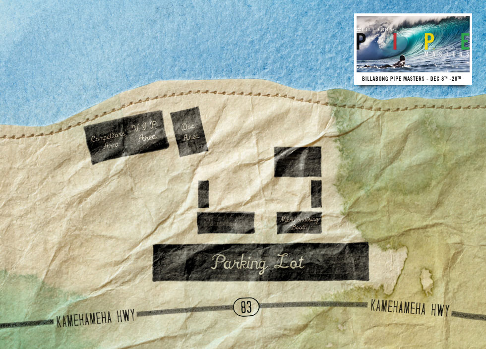 a78adb223b Interactive Map - Sunset - Vans World Cup of Surfing 2012